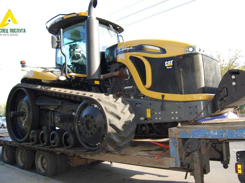 Перевозка трактора Challenger